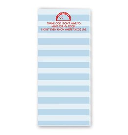 ann page Hunt For Food Notepad