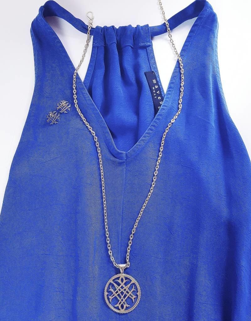 Natalie Wood Designs Logo Necklace - Gold
