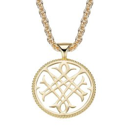 Natalie Wood Designs Logo Necklace - Gold