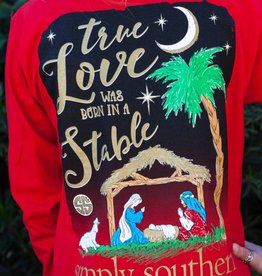simply southern Adult - True Love Christmas Shirt