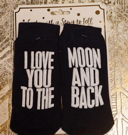 simply southern To The Moon Socks