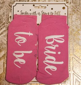 simply southern Bride To Be Socks