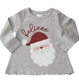 mud pie Believe Santa Shirt