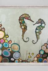 Soul Mateys Framed Canvas