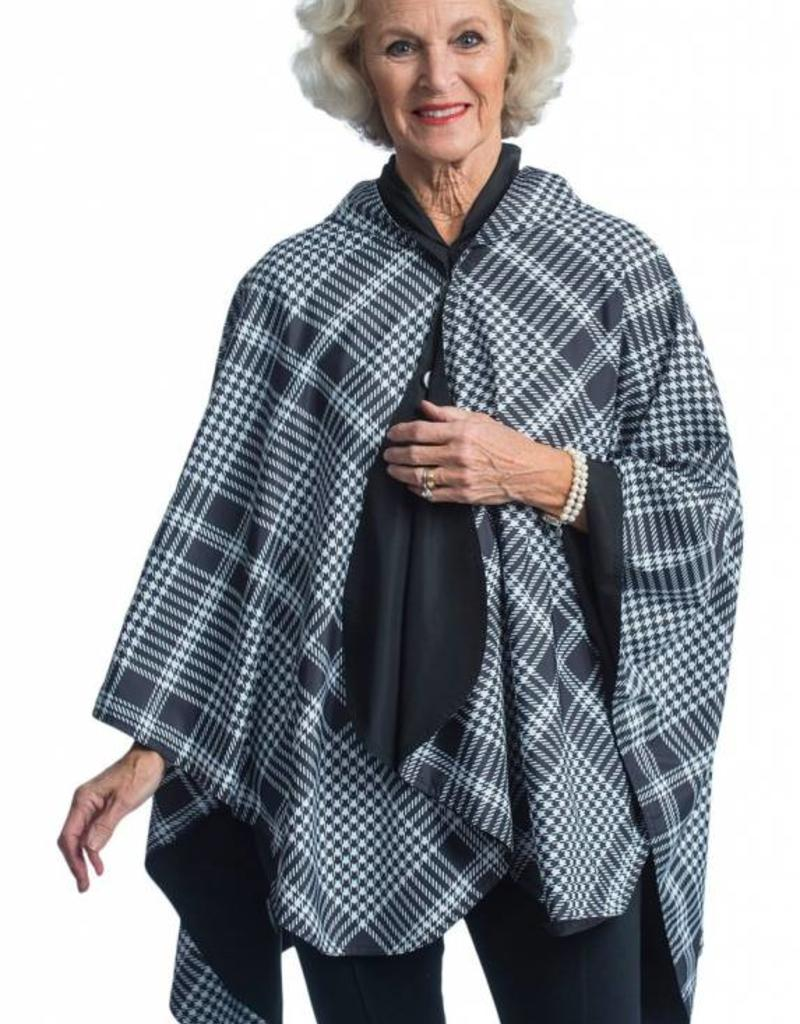 gazebo green Reversible Hooded Rain Cape