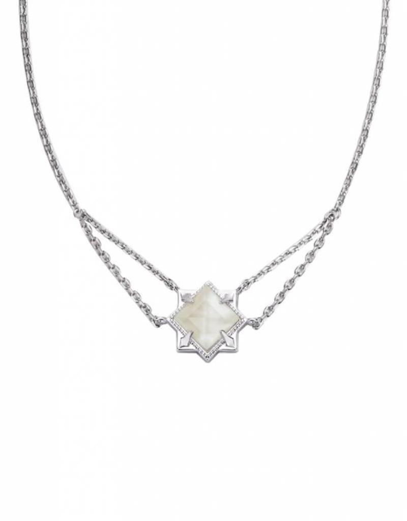sil romantic runaway necklace nec designs pearl river silver natalie wood