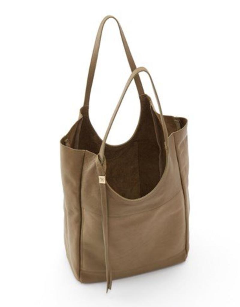 hobo Native Velvet Shoulder Bag - Aloe