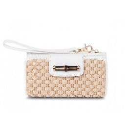 Spartina 449 Bamboo Moon Wallet White