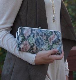 hobo Lauren Clutch Wallet - Cosmo Snake