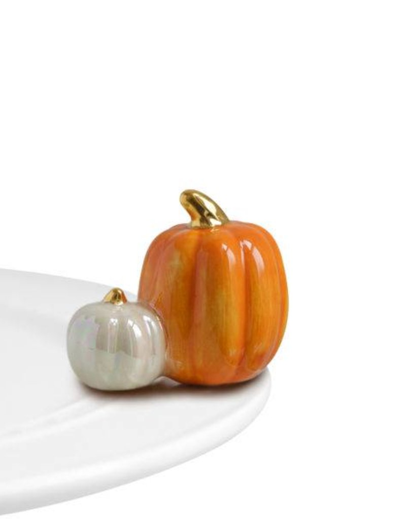 nora fleming A02 Two Pumpkins Mini
