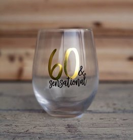 Mudpie 60 Sensational Wine Glass