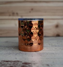 Occasionally Made 12oz Lowball - Hammered Copper