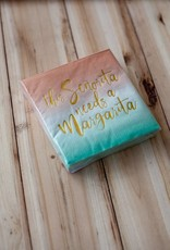 slant collection Señorita Margarita Beverage Napkins