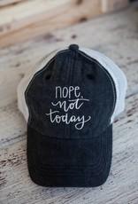 bops Nope Not Today Cap