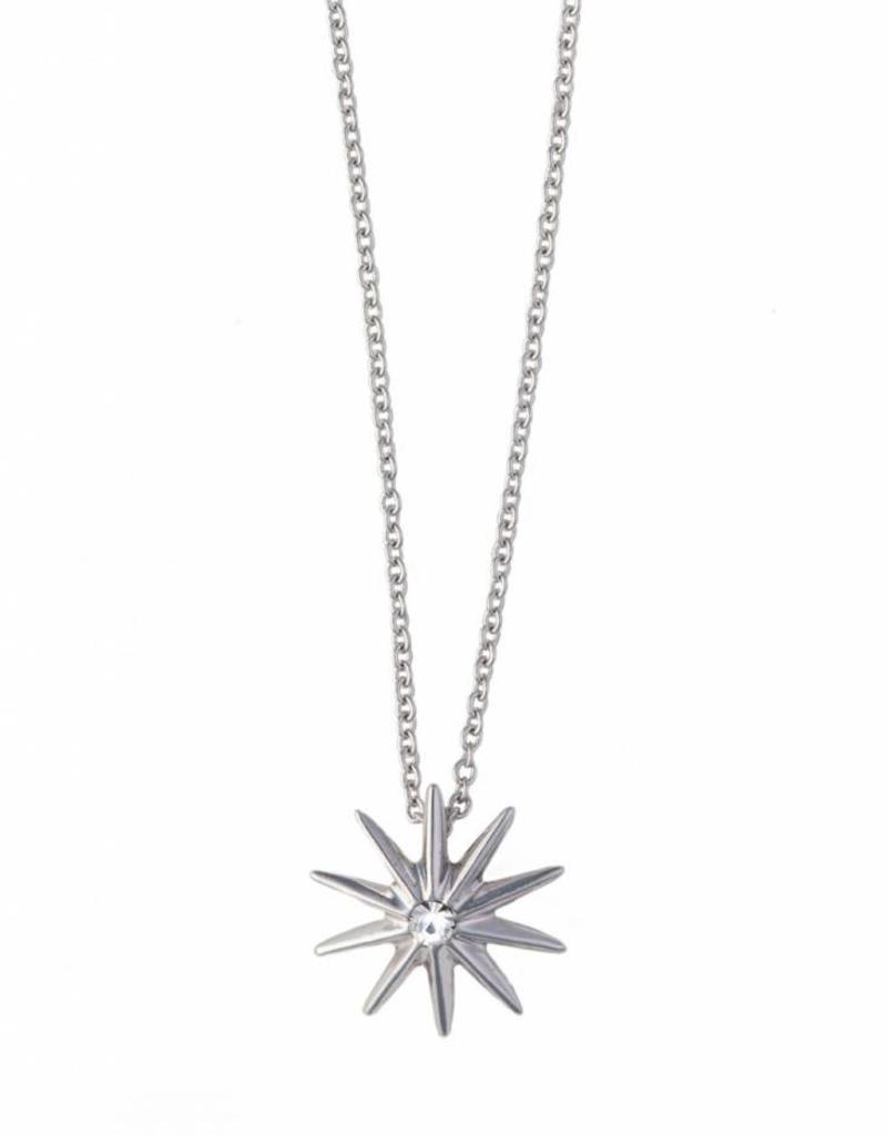 Spartina 449 Bask Sun Silver Necklace