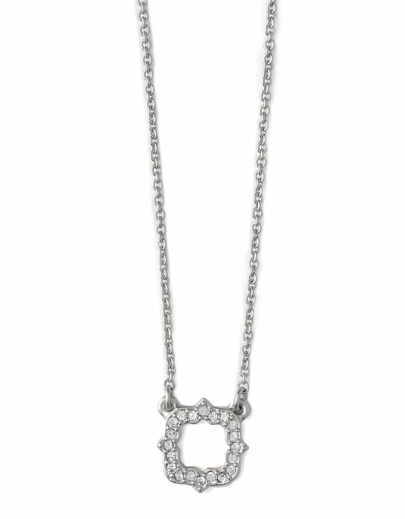 Spartina 449 Luck Quatrefoil Silver Necklace