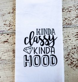 Liberty And Lilac Paper Co Kinda Classy Kinda Hood Towel