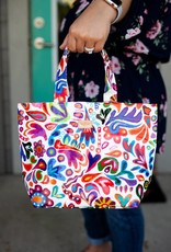 Consuela White Swirly Mini Bag