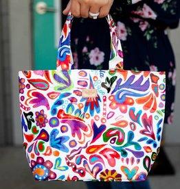 Consuela White Swirly Mini Bag