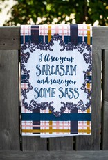 love&fig Sarcasm Sass Tea Towel