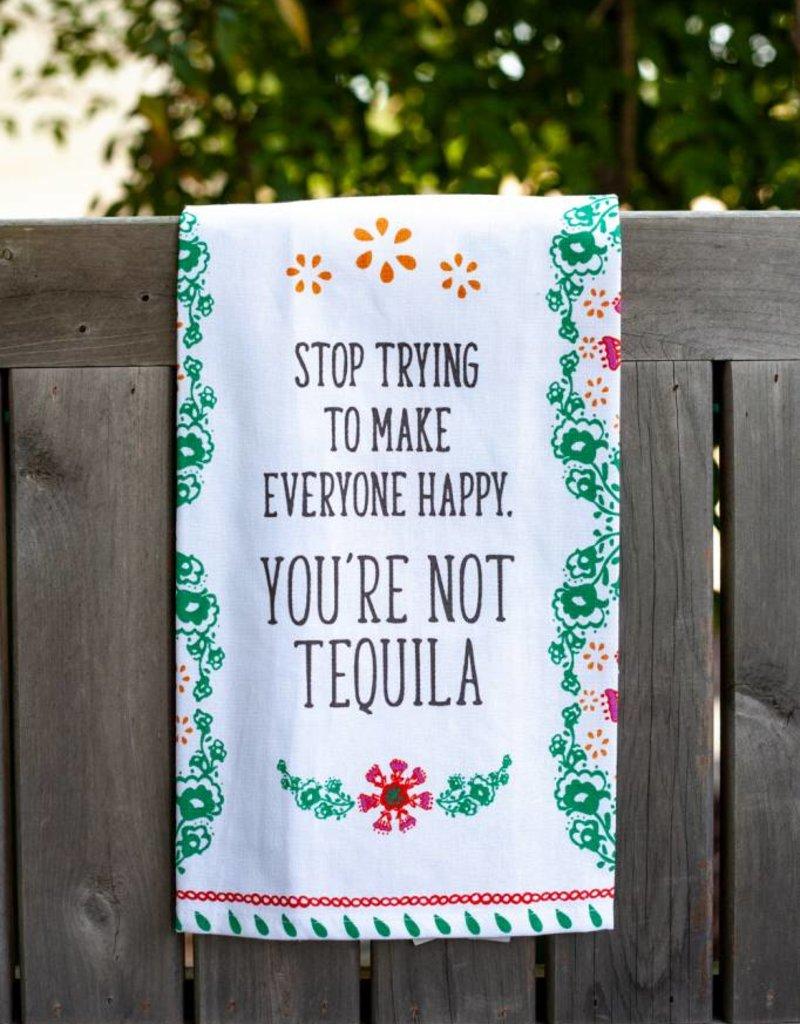 love&fig Not Tequila Tea Towel