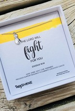 SHINElife Fight For You Necklace - Silver