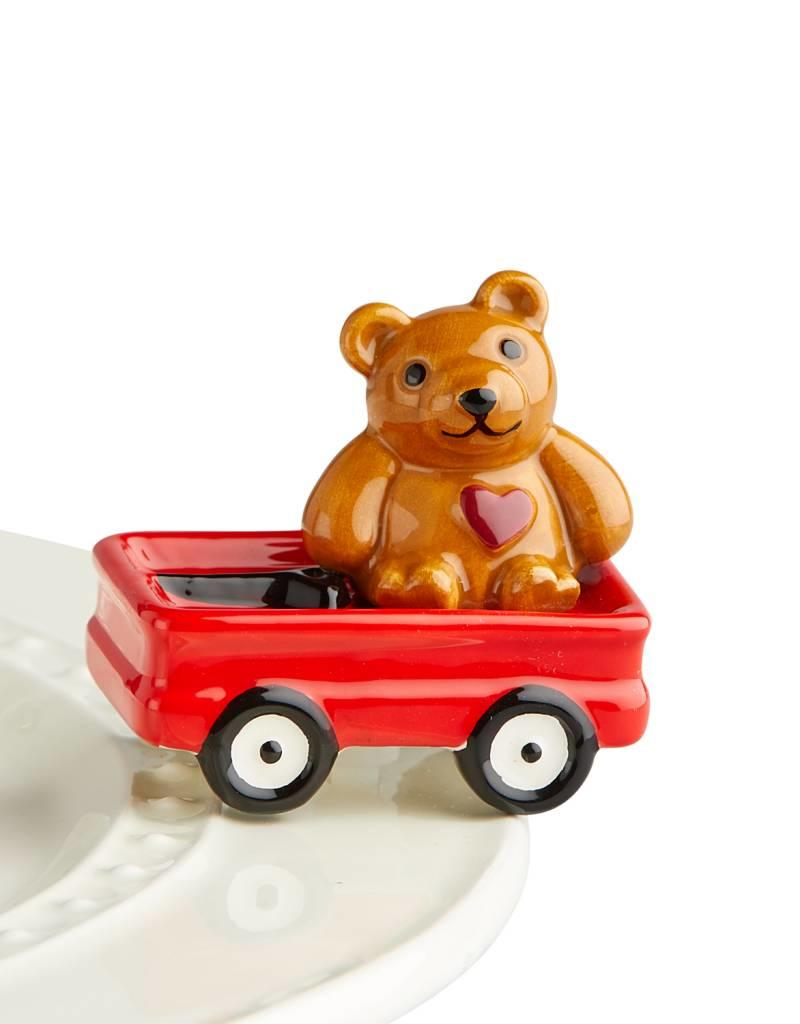 nora fleming A220 St Jude's Bear Mini