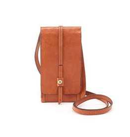 hobo Token Phone Crossbody - Clay