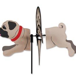 """Premier Kites & Designs PETITE PUG SPINNER 17"""""""