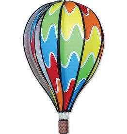 """Premier Kites & Designs RAINBOW HOT AIR BALLOON 22"""""""