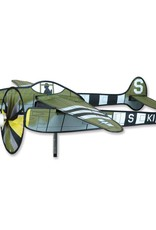 """Premier Kites & Designs P-38 LIGHTNING AIRPLANE SPINNER 38"""""""