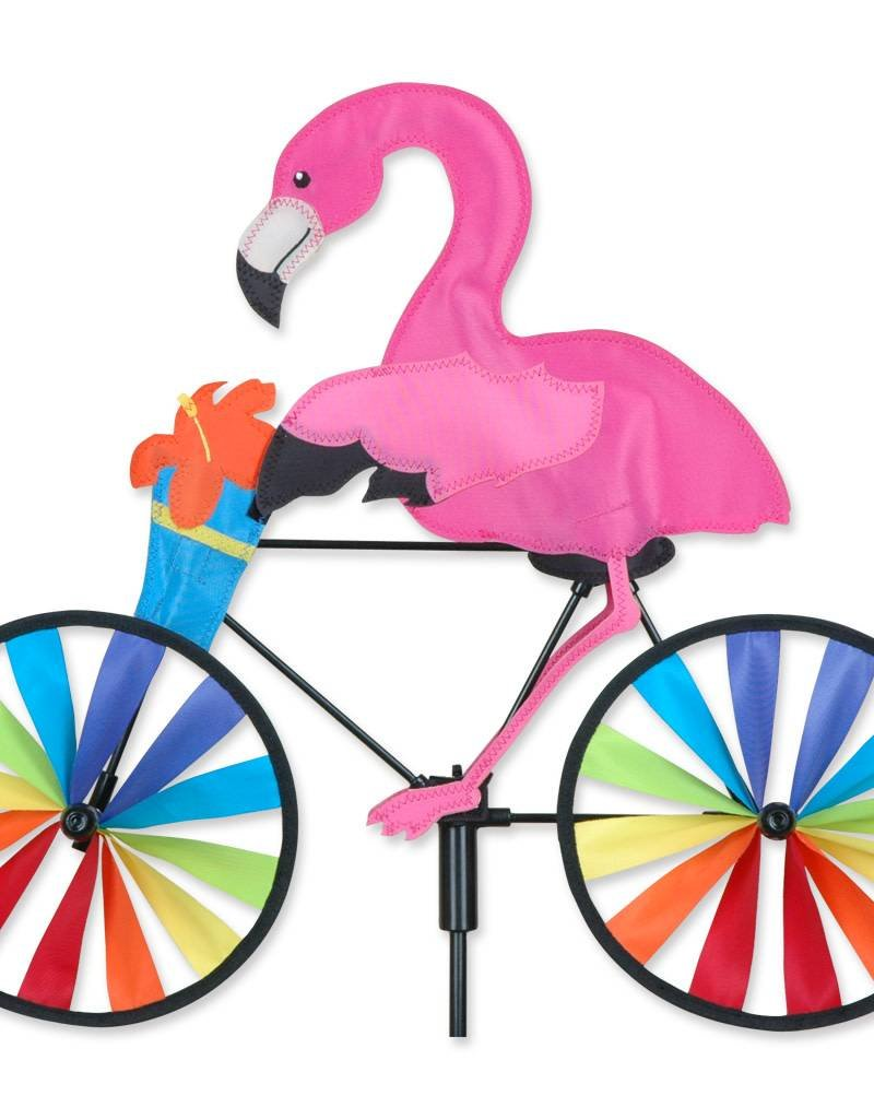 Premier Kites & Designs FLAMINGO ON A BIKE SPINNER 20""