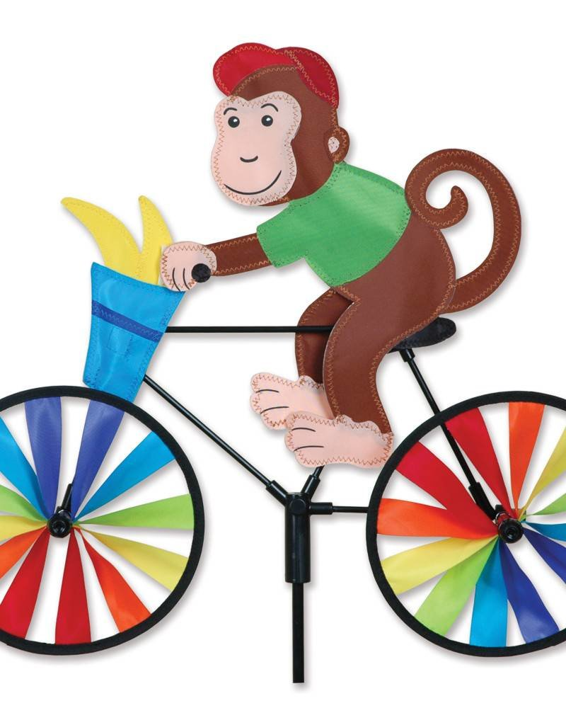 Premier Kites & Designs MONKEY ON A BIKE SPINNER 20""