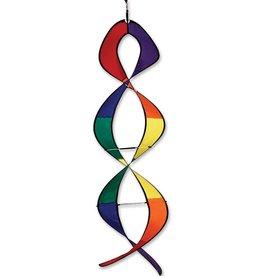 """Premier Kites & Designs RAINBOW DNA HELIX TWISTER 50"""""""