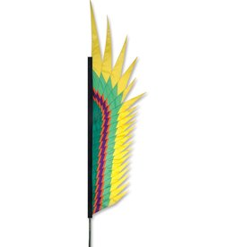 Premier Kites & Designs ELECTRA FEATHER FLAG 8.5'