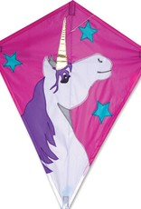 Premier Kites & Designs LUCKY UNICORN DIAMOND KITE 25""
