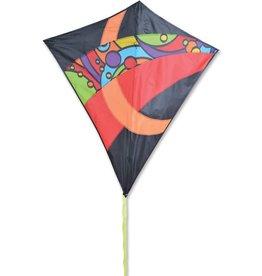 "Premier Kites & Designs TRAVEL DIAMOND KITE 52"" - ORBIT"
