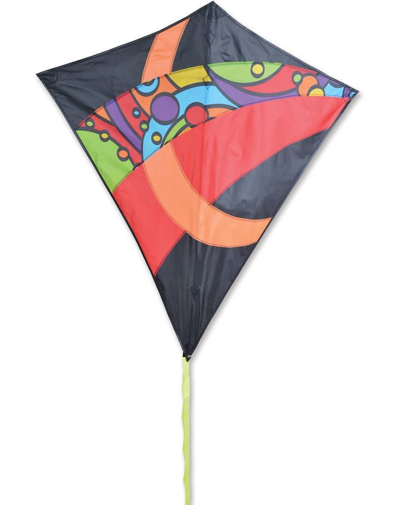 flying the prism stowaway kites line product diamond in color sky kite single radiance technology