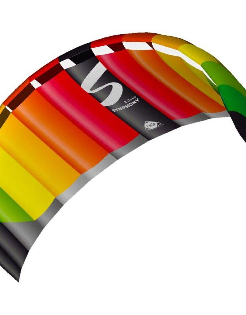 HQ Kites SYMPHONY PRO 2.2 - RAINBOW