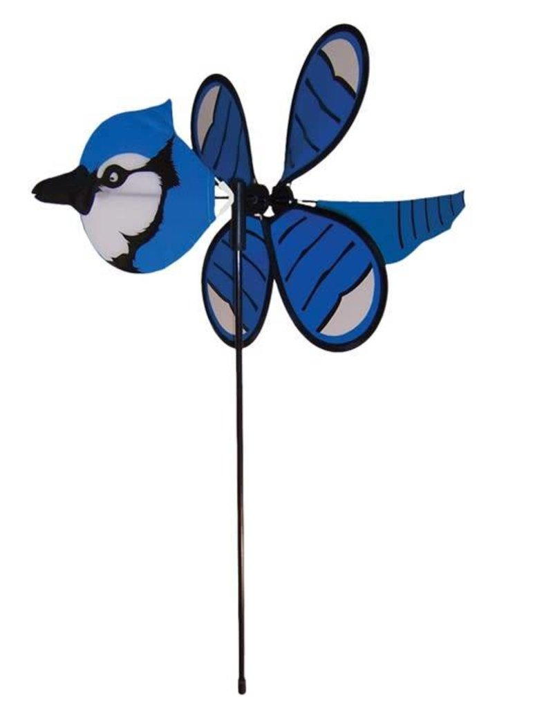In The Breeze BABY BLUEJAY SPINNER 12""