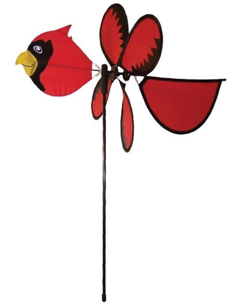 In The Breeze BABY CARDINAL SPINNER 12""