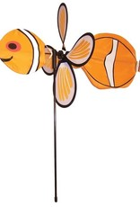 """In The Breeze BABY CLOWN FISH SPINNER 12"""""""