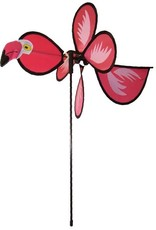 """In The Breeze BABY FLAMINGO SPINNER 12"""""""