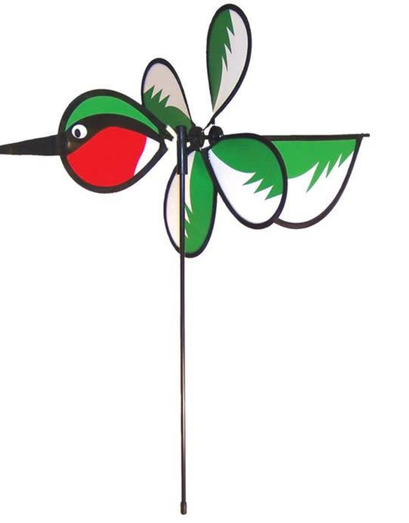 In The Breeze BABY HUMMINGBIRD SPINNER 12""