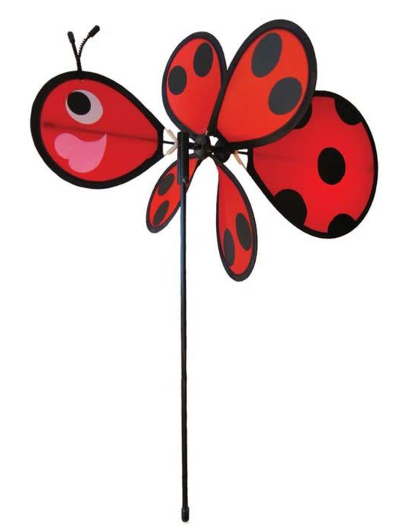 """In The Breeze BABY LADYBUG SPINNER 12"""""""