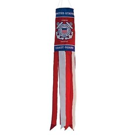 In The Breeze COAST GUARD WINDSOCK 40""
