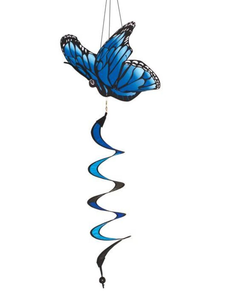 In The Breeze BLUE MORPHO BUTTERFLY TWISTER