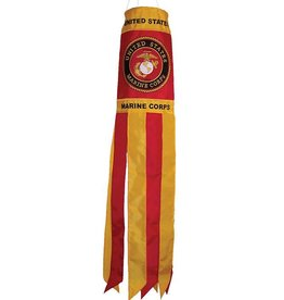 """In The Breeze MARINE CORPS WINDSOCK 40"""""""