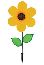 """In The Breeze YELLOW SUNFLOWER SPINNER 12"""""""