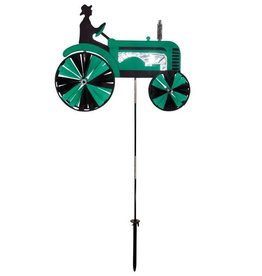 In The Breeze GREEN TRACTOR SPINNER 24""